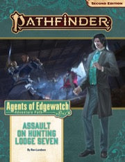 Pathfinder Second Edition Adventure Path Assault on Hunting Lodge Seven - Evolution TCG | Evolution TCG