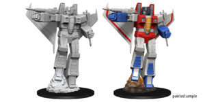 Transformers Deep Cuts Unpainted Miniatures: Starscream - Evolution TCG | Evolution TCG