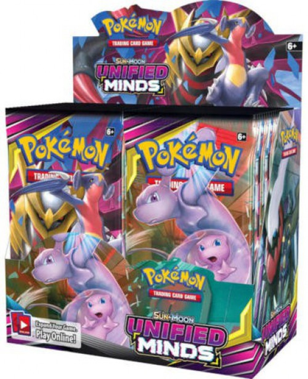 Pokémon TCG: Sun & Moon Unified Minds Display Box (36 Booster Packs) - Evolution TCG | Evolution TCG