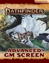 Pathfinder Second Edition Advanced GM Screen | Evolution TCG