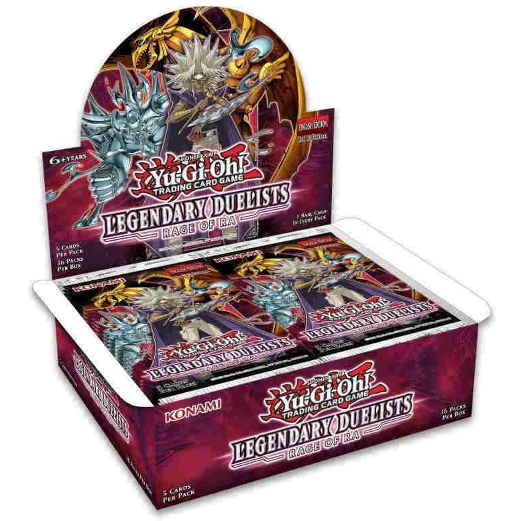 Legendary Duelist Rage of Ra | Evolution TCG
