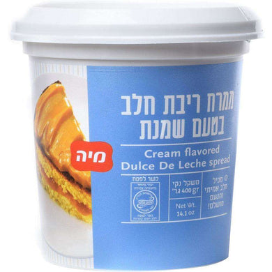 Cream Flavored Dulce De Leche Spread 400 grams Pack of 6