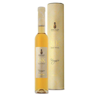 GAT SHOMRON 24K VIOGNIER KOSHER LUXURY SWEET WINE 2012