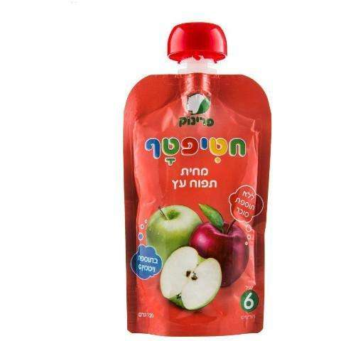 Hatiftaf Apple  Puree 120 grams Pack of 8