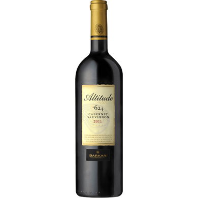 BARKAN ALTITUDE +624 CABERNET SAUVIGNON KOSHER LUXURY DRY RED WINE