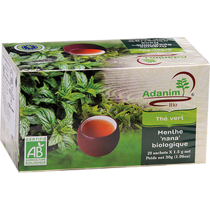 Organic Mint Tea 20 Tea Bags 30 grams