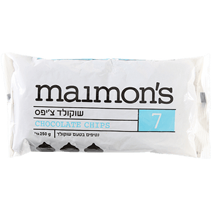 Maimon's Chocolate Chips 250 grams Pack of 6