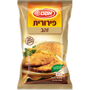 Osem Golden Perurit Breadcrumbs 350 grams Pack of 6