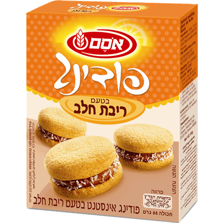 Osem Dulce De Leche Flavored Instant Pudding 84 grams Pack of 12