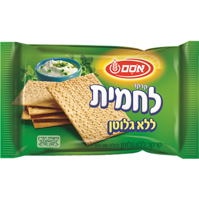 Osem Lachmit Gluten-Free Cracker 200 grams Pack of 8