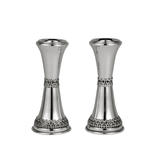 Hadad Filigree 66 Candlesticks 925 Sterling Silver