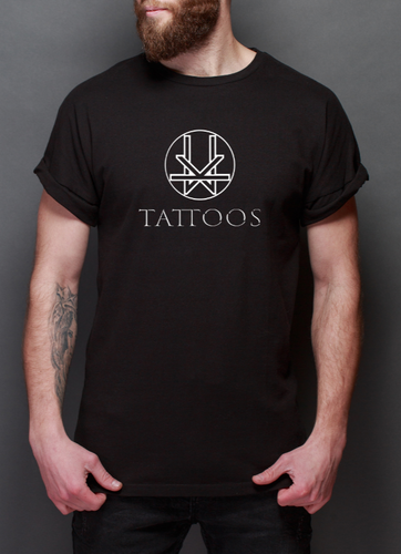 Kevin Ward Tattoos T-shirt- BLACK