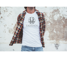 Load image into Gallery viewer, Kevin Ward Tattoos T-shirt- WHITE