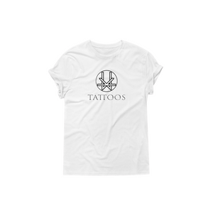 Kevin Ward Tattoos T-shirt- WHITE