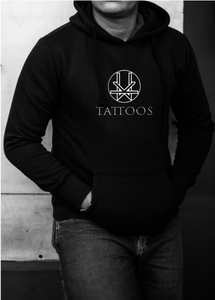Kevin Ward Tattoos Hoody- BLACK