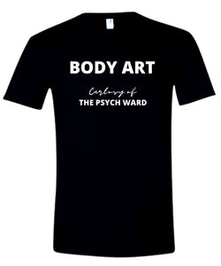 BODY ART T-SHIRT-BLACK
