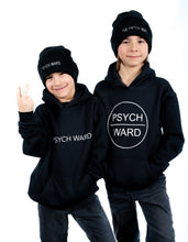 Load image into Gallery viewer, Youth Psych Ward Circle Logo Hoodie