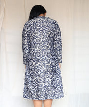 Load image into Gallery viewer, Blue Batik Khaadi Silk and Light Green Cotton Silk Set of Two Dresses