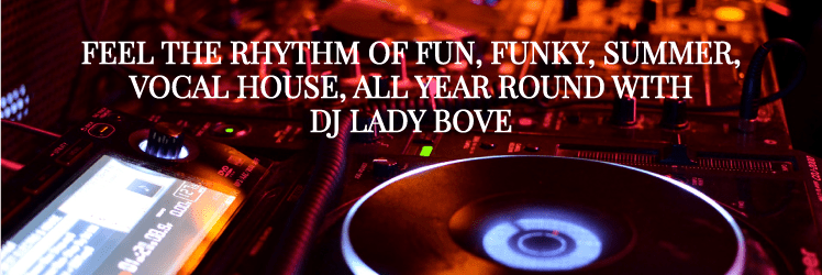 DJ Lady Bove - Melbourne Party DJ