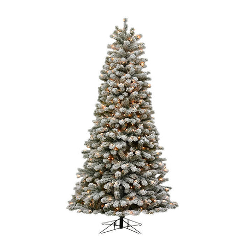 Oregon Flocked Slim Tree