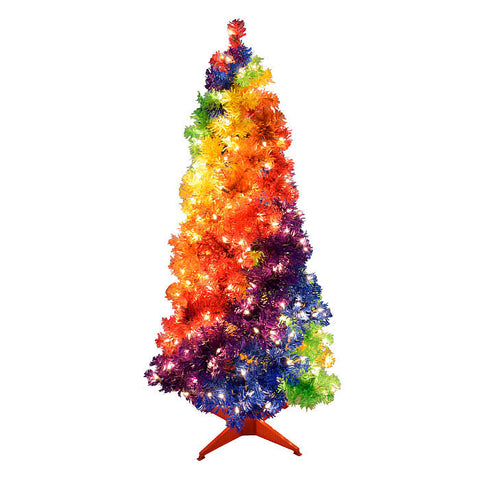 Holiday Rainbow Tree