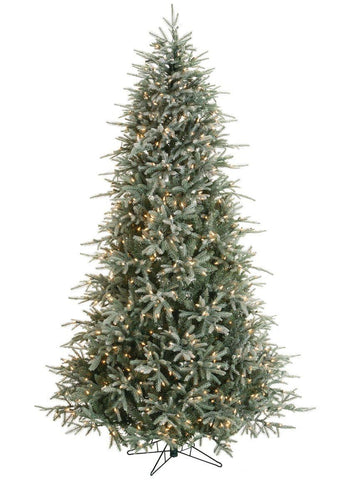 Lightly Frosted Lighted Pine Tree (7.5 Feet)