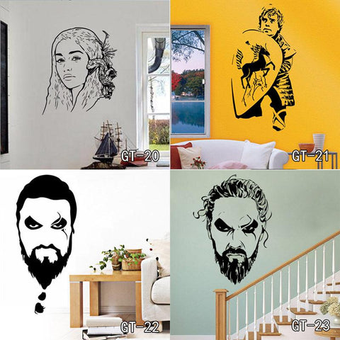 New Vinyl Design Game of Thrones Poster & Decal Wall Stickers Painting - Home Decor