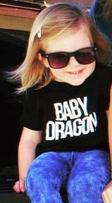 Family T Shirts Mom And Daughter Game Of Thrones - Mother Of Dragons and Baby Dragon T-Shirts