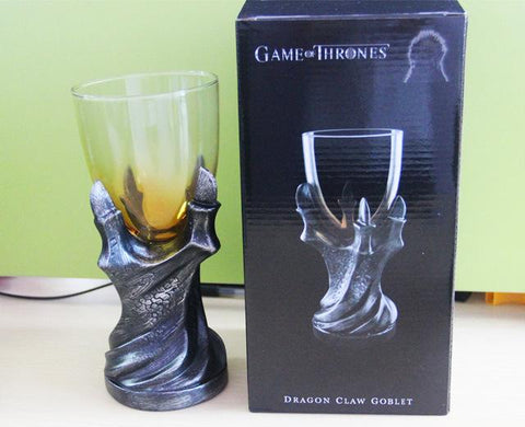 "3D Game of Thrones Mug ""A Song Of Ice And Fire""  Skull Dragon Claw - Dragon Glass"