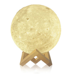 3D Print Night Moon LED Lamp - Shop AWESOME!