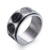 Ring with All Game of Thrones Family Sigils - 316L Stainless Steel