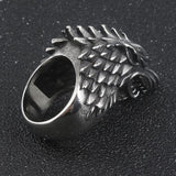 High Quality Game Of Thrones Ring - House Stark Of Winterfell Wolf Head Biker Ring