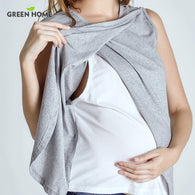 Green Home Two Layers Maternity Nursing Top For Pregnant Women - Breastfeeding - Shop AWESOME!