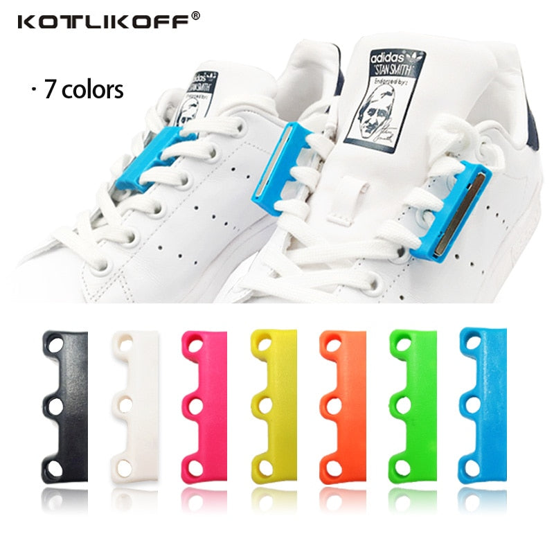 Magnetic Shoelaces Closures - 6 Colors - Shop AWESOME!