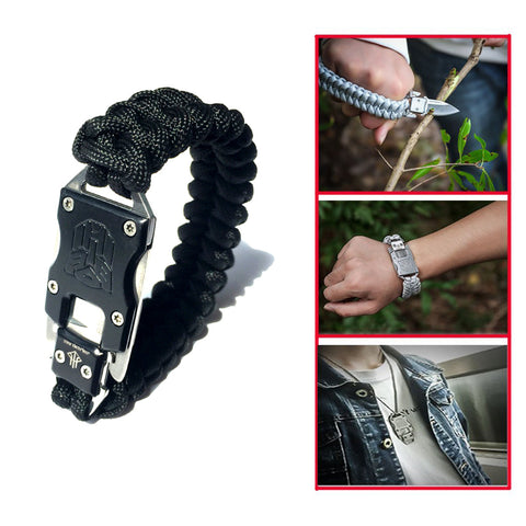 Outdoor Self-Defense & Multi Functional Tactical Bracelet Knife - Shop AWESOME!