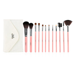 12pcs Makeup Brush Set Essential Cosmetic Kit with Cosmetic Bag - Shop AWESOME!