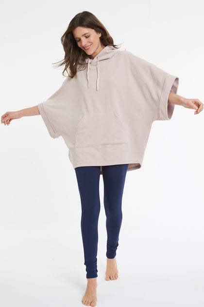 Poncho ivoire
