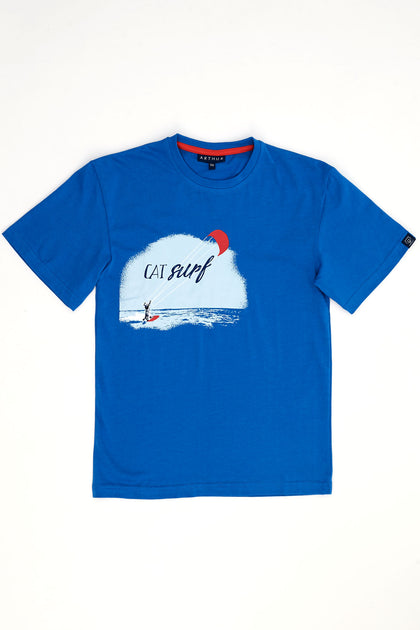 Bermuda Tee-shirt Cat Surf