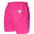 Short de bain Uni Rose