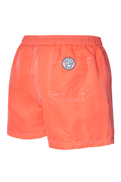 Short de bain Fluo Orange