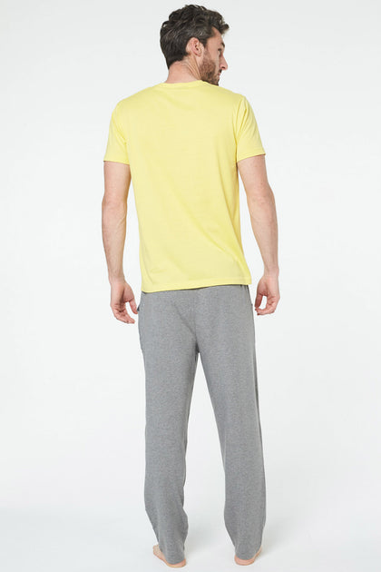 Tee Shirt Tres Cool Jaune