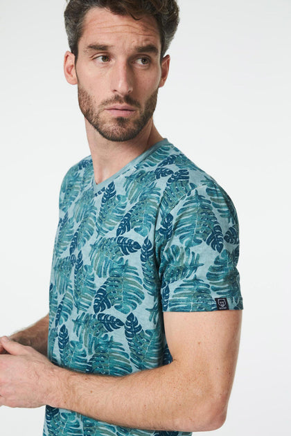 Tee Shirt Tropical Acier