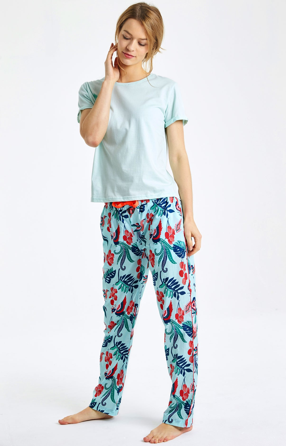 Pantalon lyre multicolore