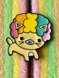 Pin, clownkatt