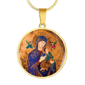 Our Lady of Perpetual Help Pendant Charm