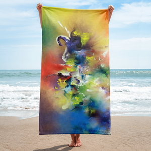 Swan Taking Flight Towel