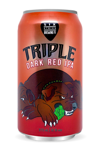 Triple Dark Red IPA 375ml x24