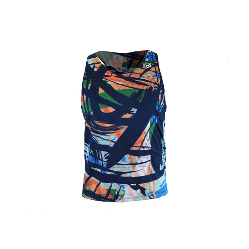 Apex Men's Marathon Run Singlet  MULTI