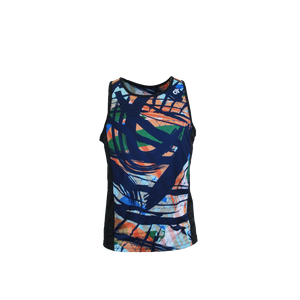 Apex Men's Run Singlet MULTI