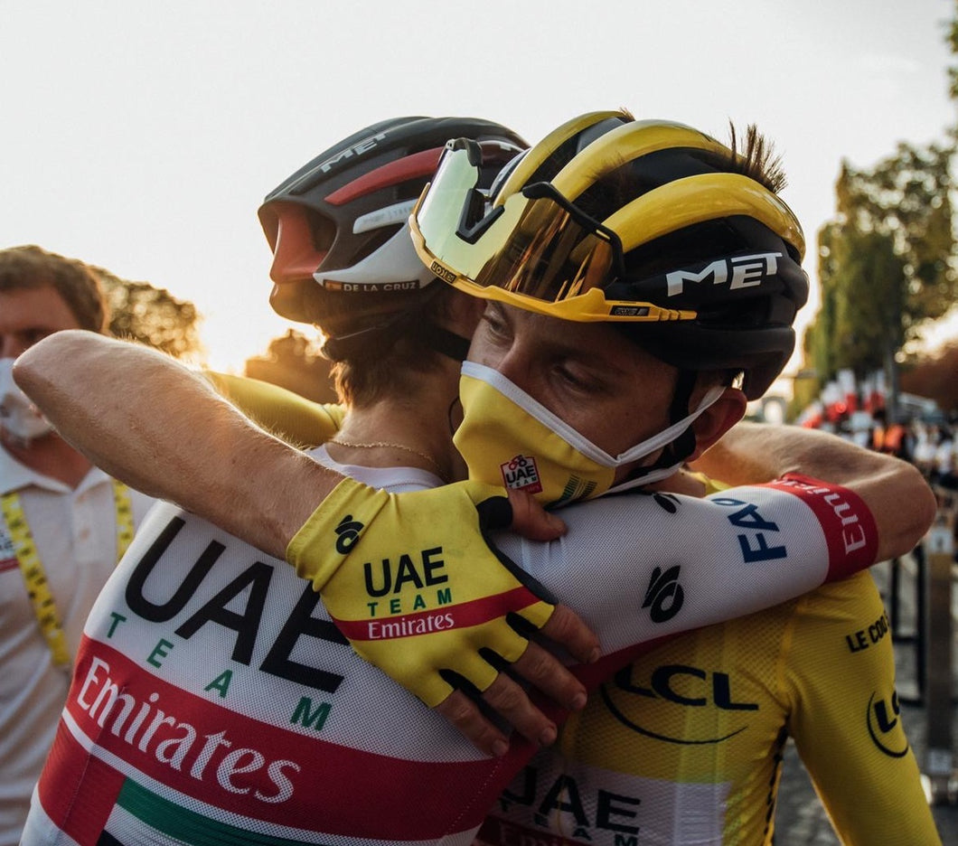 2020 UAE Team Emirates Race Glove ( Yellow Glove )